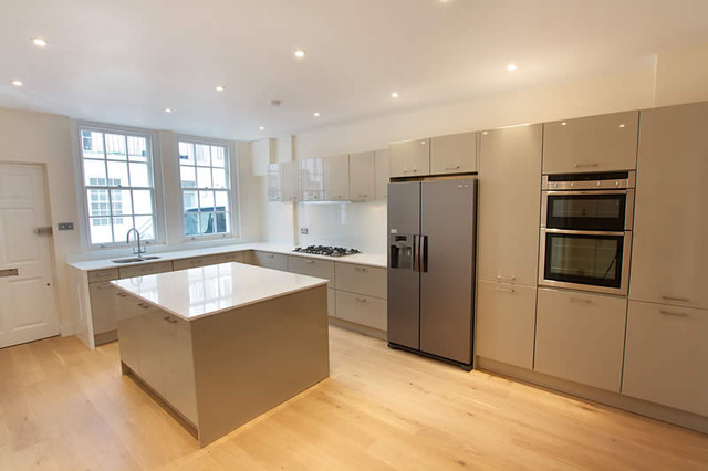 Island Kitchen By LWK Kitchens London modern-kitchen
