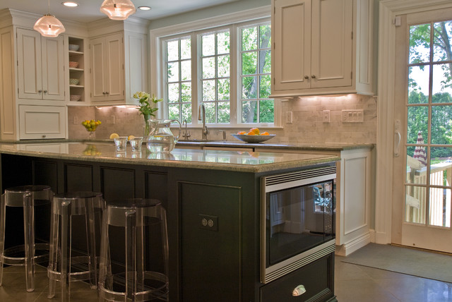 Island Traditional Kitchen Boston By Westborough