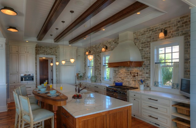 Yes You Can Use Brick In The Kitchen