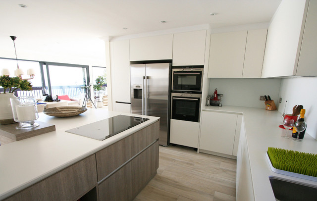 Isle Of Wight Contemporary Kitchen South West By