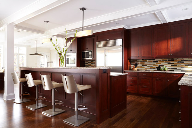 Isles Haute Transitional Kitchen