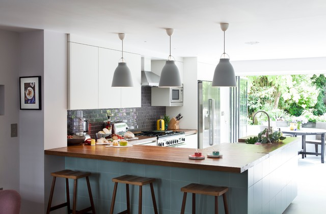 Islington Basement Conversion - Contemporary - Kitchen - london - by Matteo Bianchi Studio
