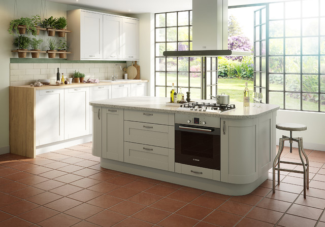 IT Brookfield Mussel - Traditional - Kitchen - Hampshire - by B&Q