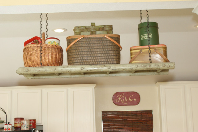 It's a Wannabe Decorator's Life traditional-kitchen