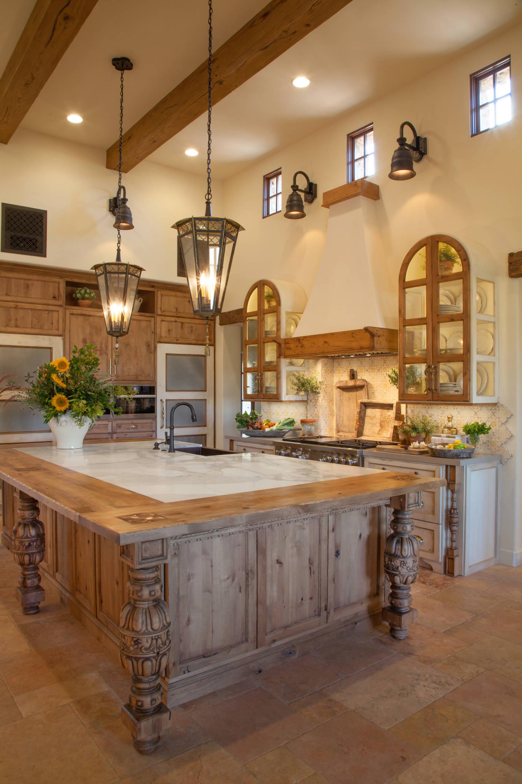Italian Farmhouse Custom Kitchen Remodel | Santaluz, CA
