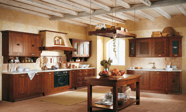 Italian Kitchen Cabinets By Effequattro Cucine Model Agata Mediterranean Kitchen Miami