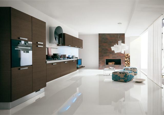Italian kitchen cabinets by effequattro cucine model - Miami design center kitchen bath closets ...