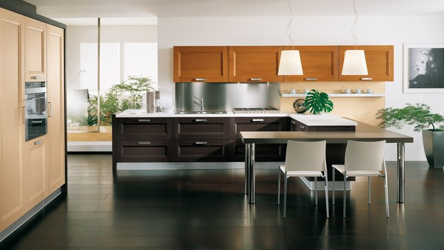 Italian Kitchen Cabinets By Effequattro Cucine Model Devon Transitional Kitchen Miami