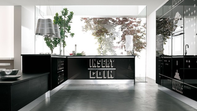 Italian Kitchen Cabinets By Effequattro Cucine Model Fantasy Modern Kitchen Miami By