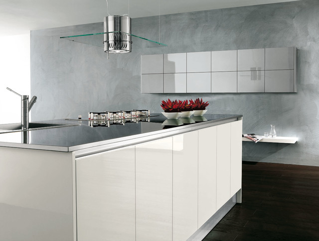 Italian Kitchen Cabinets By Effequattro Cucine Model Infinity Modern Kitchen Miami By