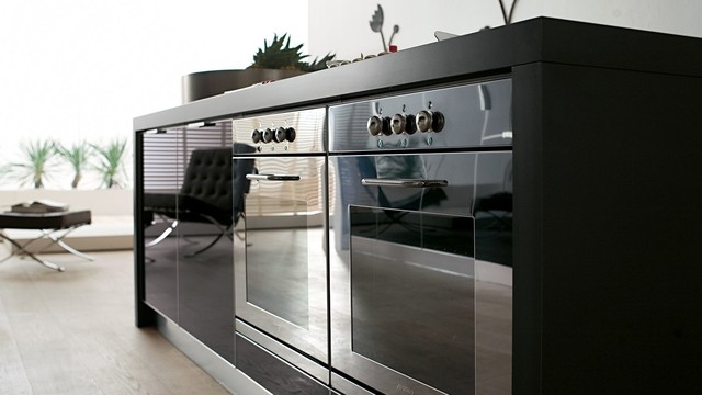 Italian Kitchen Cabinets By Effequattro Cucine Model Lumina Modern Kitchen Miami By