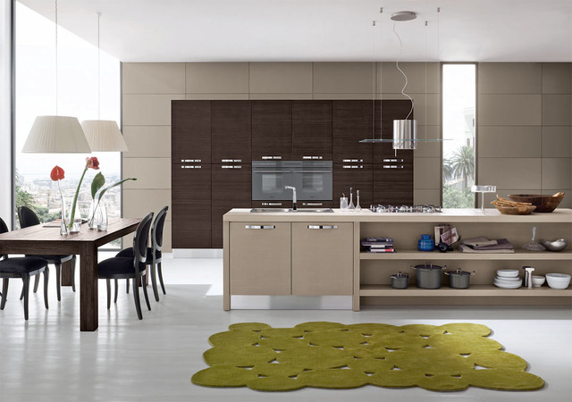 Italian Kitchen Cabinets By Effequattro Cucine Model Moon Modern Kitchen Miami By Evaa