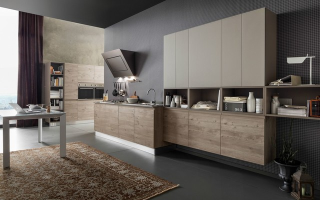 italian kitchen cabinets by effequattro cucine model wave modern