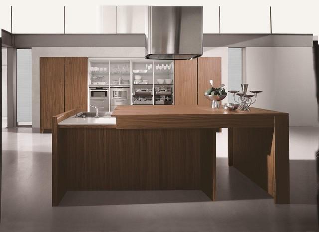 Italian kitchen contempora by aster cucine for Aster cucine kitchen cabinets