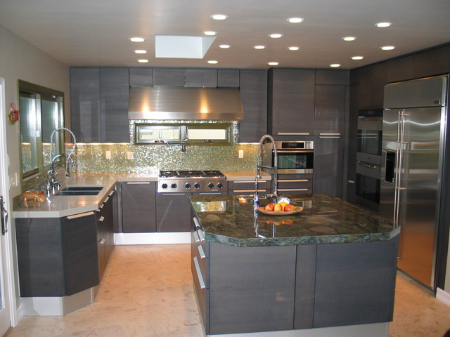 italian kitchen design - modern - kitchen - san diego -bkt