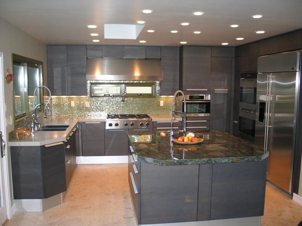 Italian Kitchen Design Modern Kitchen San Diego By Bkt Loft Italian Kitchen Cabinets In San Diego