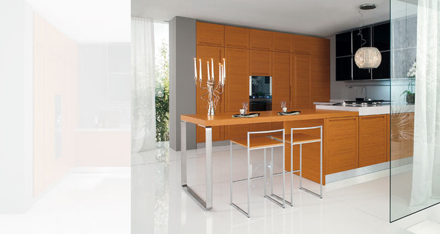 Italian Kitchen Design Modern Kitchen Los Angeles By Euro Interior California