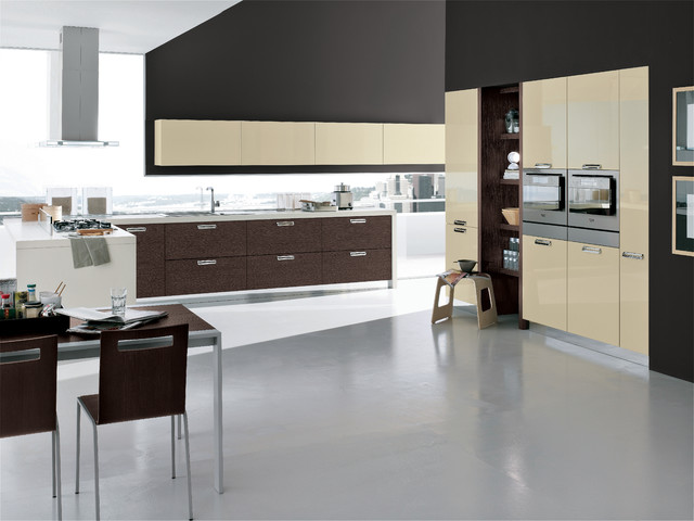 Italian kitchens area modern kitchen other metro for Italian kitchen cabinets