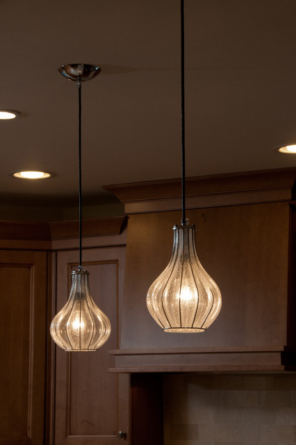 Italian Lighting Traditional Kitchen Chicago By