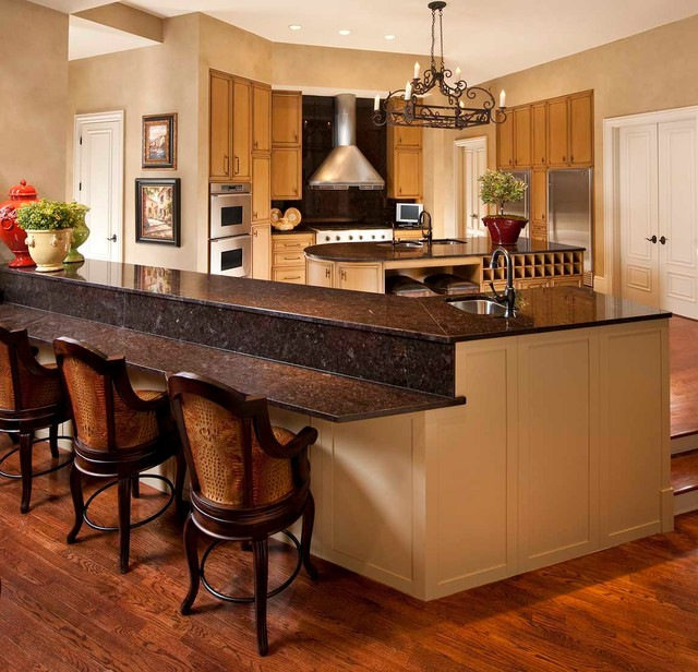 Arlington tx vacation home traditional kitchen for Kitchen remodeling arlington tx