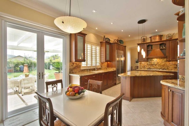 italian traditional kitchen design in san diego