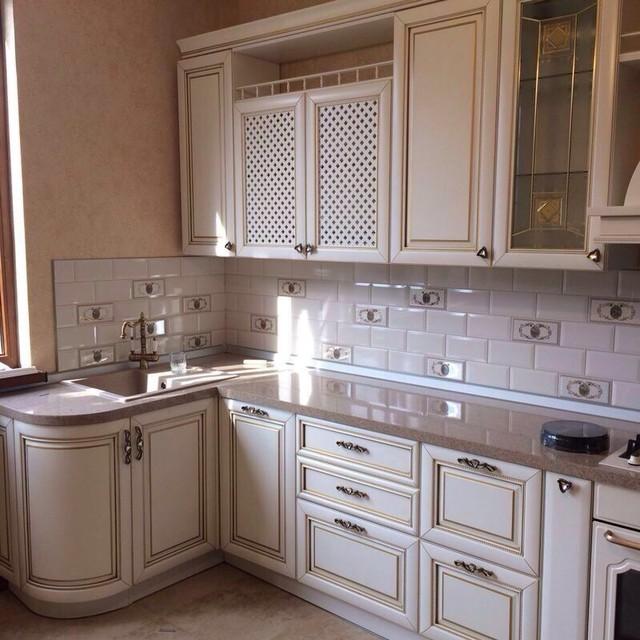 Italian white kitchen mediterranean kitchen other for Italian kitchen white