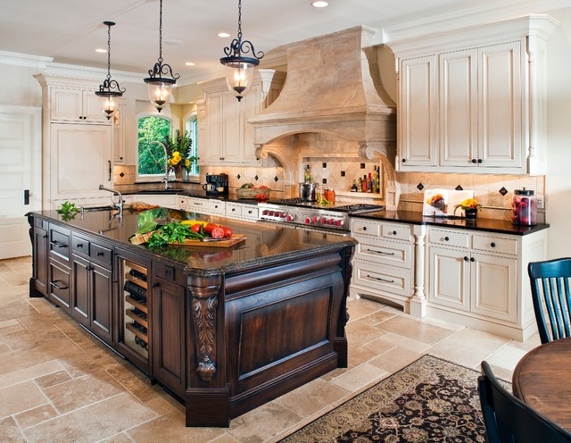 Italianate victorian kitchen traditional kitchen for Victorian kitchen ideas
