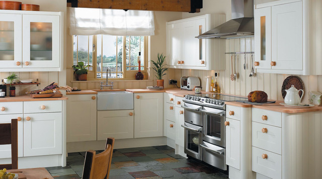 Ivory Classic Style Shaker Kitchen Contemporary Kitchen Hampshire