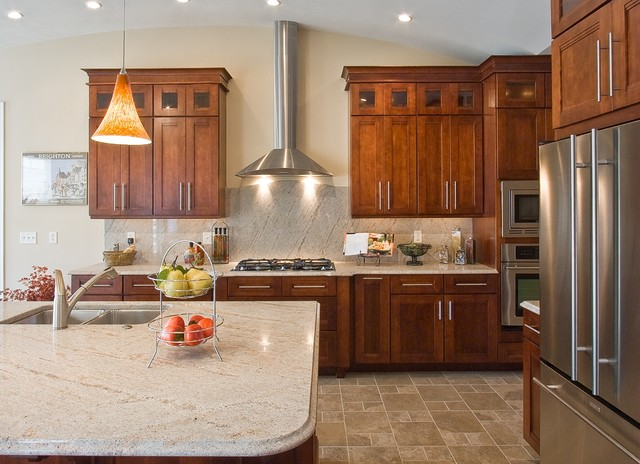 Ivory Fantasy Granite Eclectic Kitchen By Frank S