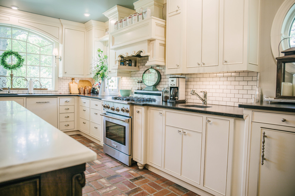 Ivory Kitchen Cabinets Farmhouse Kitchen Oklahoma City By Dj Cabinets