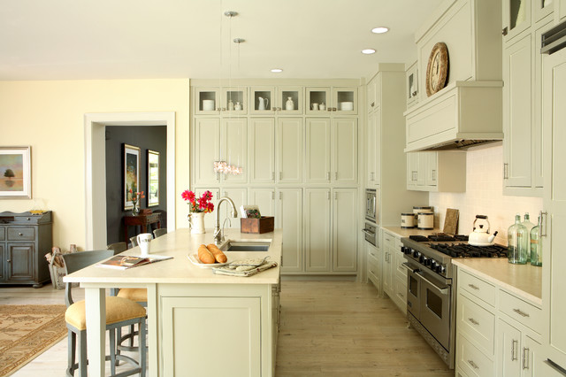 J. Hirsch Interior Design Portfolio traditional-kitchen