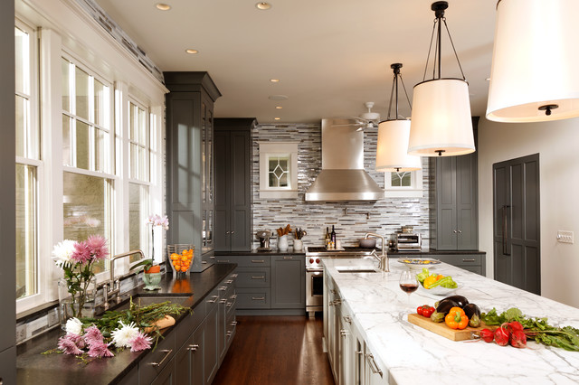 Jackson Door, Silver Springs, MD - Greenfield Cabinetry contemporary-kitchen