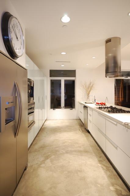 Jackson House Modern Kitchen Los Angeles By Dlfstudio