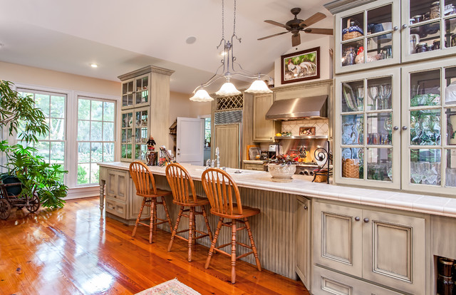 Jackson, SC Plantation Home Renovation & Addition traditional kitchen