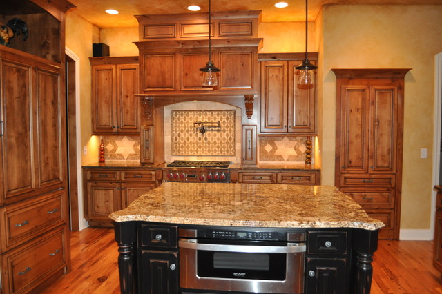 Jackson Township Model Home traditional-kitchen
