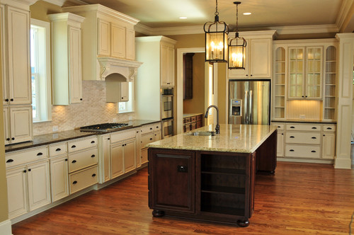 cream kitchen cabinets with white trim can you tell me if the painted cabinets 14227