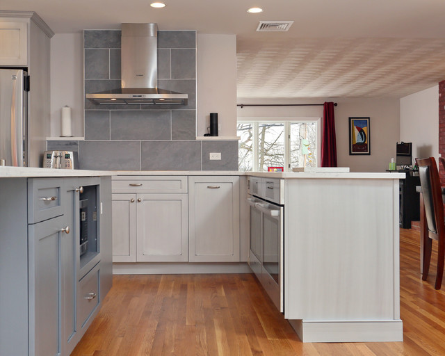 Jamaica plain kitchen remodel modern kitchen boston for Jamaican kitchen designs