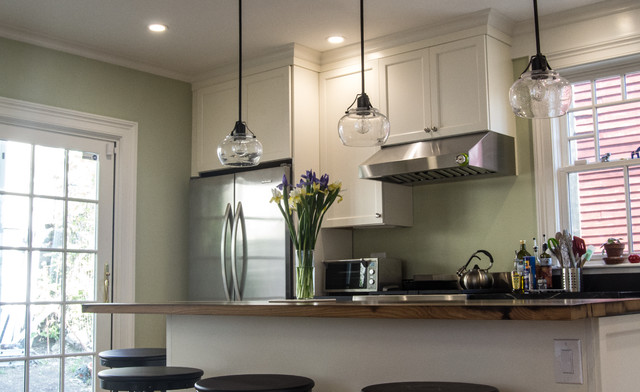 Jamaica Plain Traditional Kitchen Boston By Lim Design Studio Inc