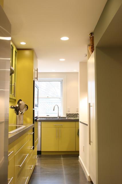 Jamaica Plain Modern Kitchen contemporary-kitchen