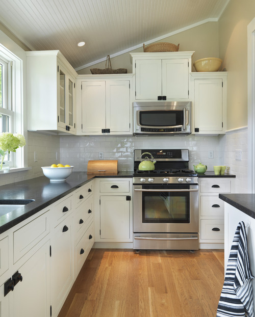 Black Kitchen Countertops - Addicted 2 Decorating®