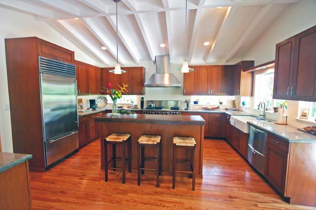 Jan & Diane contemporary-kitchen