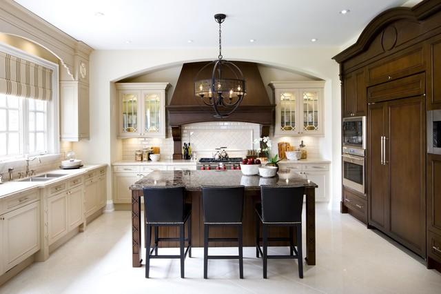 Jane Lockhart Kylemore Custom Home Traditional Kitchen