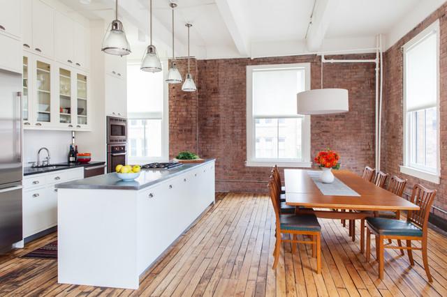 Jane Street, New York contemporary-kitchen