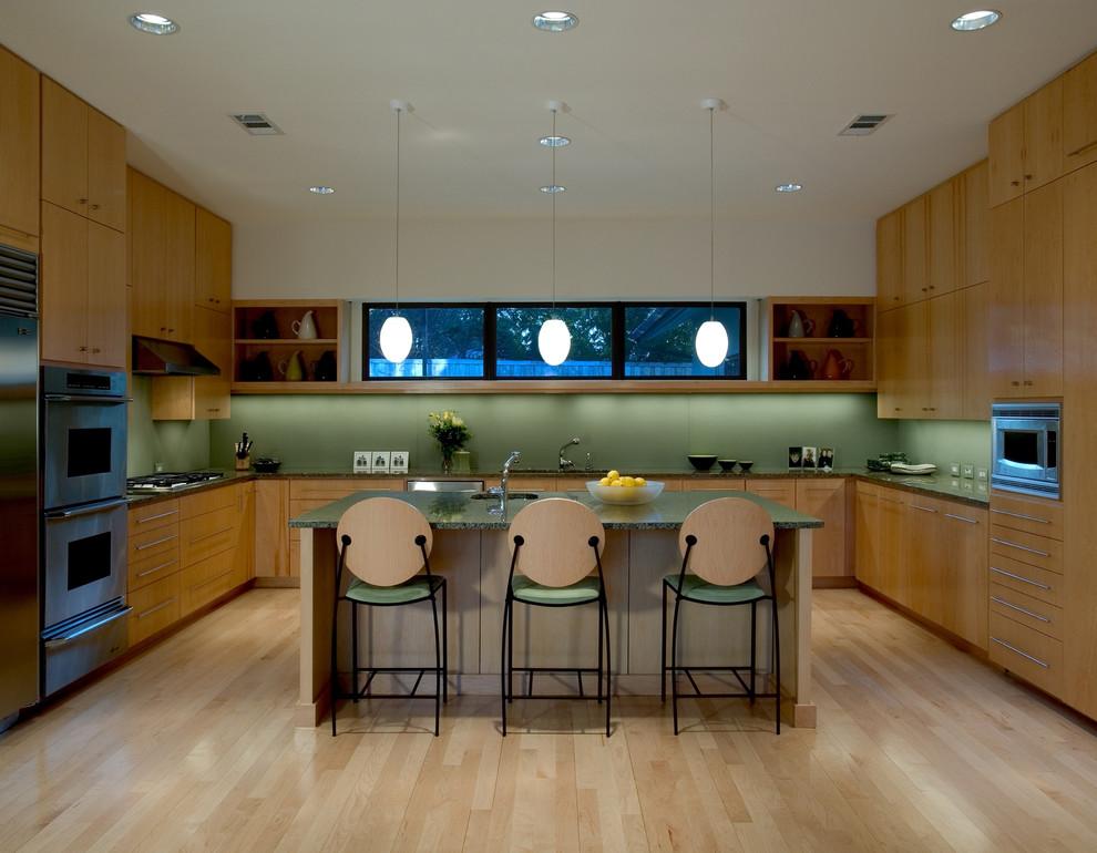 Janmar Residence Midcentury Kitchen Dallas By Bernbaum Magadini Architects
