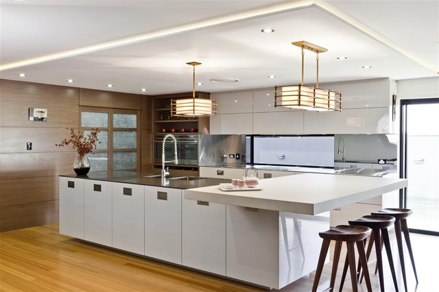 Japanese Contemporary Kitchen Design Best of Easts Meets West