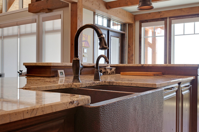 jaskela carstairs alberta rustic kitchen calgary by sliver