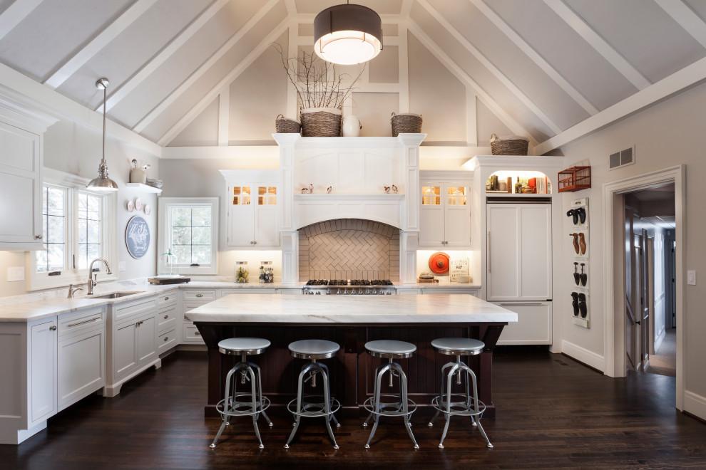 JCH Office - Farmhouse - Kitchen - Detroit - by Johnson ...
