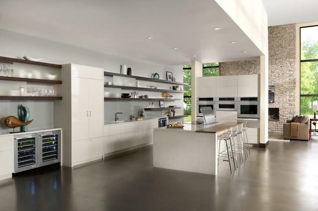 Jenn Air® Euro Style Modern Minimal Kitchen Modern Kitchen
