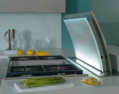Jenn-Air Cooking Technology and Contemporary Cabinetry from Dura Supreme modern-