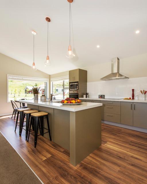 Jennian Homes Queenstown Home Contemporary Kitchen